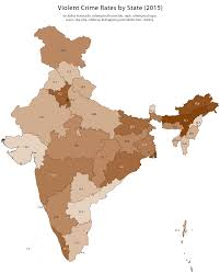 Trulia Crime Map San Francisco by Violent Crime Rates Across India Maps Pinterest Crime Rate