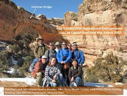 Capitol Reef National Park Map Geology Of Capitol Reef Np
