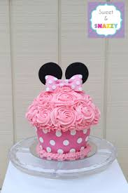minnie mouse giant cupcake smash cake bing images mickey and