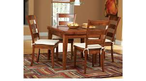 rooms to go dining sets melbourne tobacco 7 pc square dining set traditional