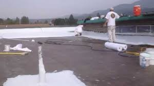 Surecoat Roof Coating by Roof Coating Applied By Chewelah Painting Near Spokane Washington