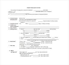 sample employee contracts how to change the terms of existing