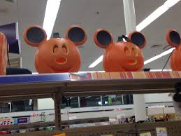 mickey and minnie halloween door greeters found at cvs pharmacy