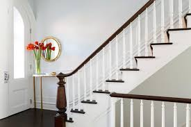 Painting Banisters Ideas Baby Nursery Foxy Stair Rail Ideas View Home Design Planning