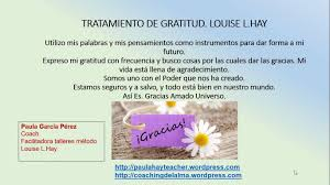 imagenes de agradecimiento al universo tratamiento de gratitud louise l hay youtube