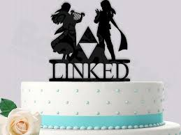 up cake topper legend of inspired linked wedding cake topper 2450139