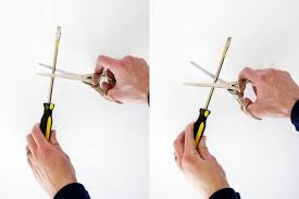 how to sharpen scissors yourself no need to pay someone diy it