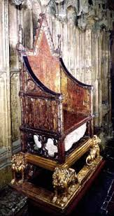 King And Queen Throne Chairs Westminster Abbey The Coronation Chair