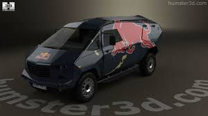 red land rover 360 view of land rover defender red bull event 2016 3d model