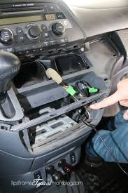 honda odyssey 2005 aux input how to install an aux input cable in your honda odyssey so you can
