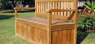 Waterproof Patio Storage Bench by Outdoor Bench Storage Treenovation