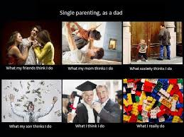 Single Parent Meme - image 250987 what people think i do what i really do know