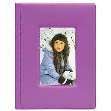 Pioneer Photo Albums 4x6 Pioneer Kz46 Purple Brag Book Bound Photo Album 4x6 24 Kz46 Purple