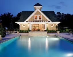 pool guest house plans residential floor plans american post beam homes modern