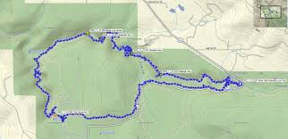 Oregon Waterfalls Map by Oregon Hikers U2022 View Topic 1 5 13 Silver Falls Perimeter Trail