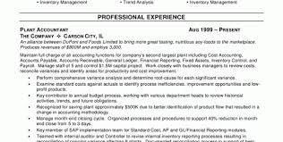 Sample Resume For Accounting Internship by Accounting Clerk Resume Examples Cost Accounting Resume Samples