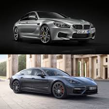 porsche panamera 2016 price spec comparison bmw m6 gran coupe vs 2017 porsche panamera