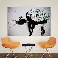Graffiti Art Home Decor Online Get Cheap Canvas Art Banksy Aliexpress Com Alibaba Group