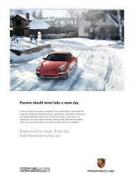 porsche winter porsche ads cartype