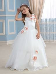 flower girl dresses flower girl dresses 2016 with ivory in white tbdress