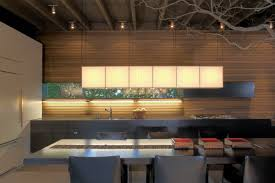 modern kitchen dining table urban cabin in medina washington by