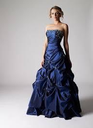 robe de mariã e bleue coiffurete robe de soirée bleue nuit longue