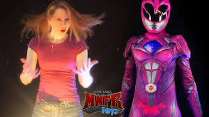 Pink Ranger Halloween Costume Power Ranger Movie Costume Review U0026 Bruno