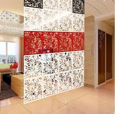 Pvc Room Divider 8pieces Biombo Room Divider Hanging Screens Simple Comfortable