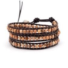 bead wrap bracelet leather images 71 women 39 s men 39 s beaded wrap bracelets shop beaded wrap jpg