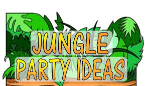 jungle theme party games u0026 activities