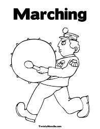 dk coloring pages band coloring sketch template marching band coloring pages