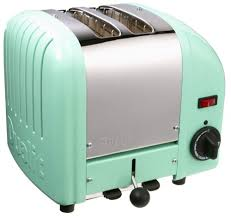 Toaster Retro 50s Turquoise Color Toaster Retro Style Small Kitchen