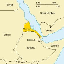 africa map eritrea eritrea location geography