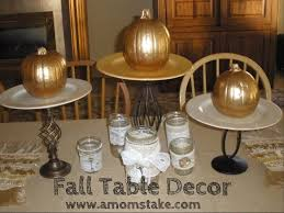 Pinterest Cheap Home Decor by Fall Table Decor A Moms Take Loversiq