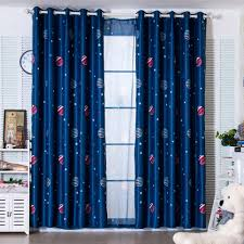 boys bedroom curtains latest 2 colors blue planet star wars cartoon curtains for boys
