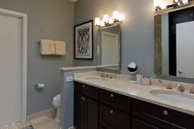 bathroom modern small half bathroom ideas modern double sink