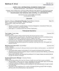 Format For Resume For Internship Sample Resume For University Students Before John Does Old Resume