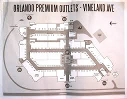 Orlando Traffic Map by Orlando Premium Outlets Vineland Ave Closest Outlet Mall To