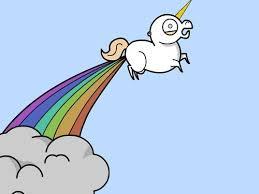 Unicorn Rainbow Meme - unicorn rainbow fart blank template imgflip