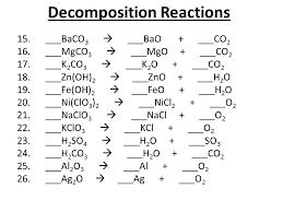 balancing chemical equations presentation chemistry sliderbase