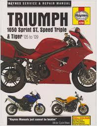 triumph 1050 service and repair manual haynes service and repair