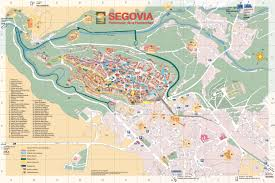 Trinidad World Map by Segovia Old City Map