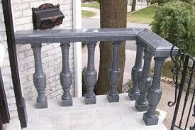 black marble front porch railing deck railing mountain laurel