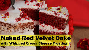 red velvet cake with whipped cream cheese frosting u2013 my