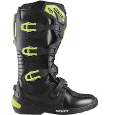 black motocross boots scott 350 mx boots black green offroad multiple colors exclusive
