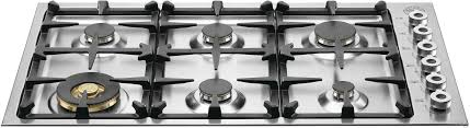 36 Inch Cooktop With Downdraft Burners Elements 6 Cooktops