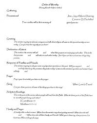 In Memory Of Wedding Program Wedding Program For Children Wedding Plans