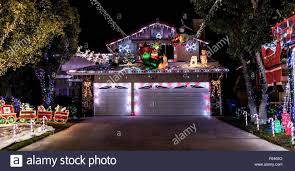 christmas decorated homes los angeles home decor