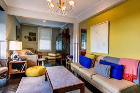 Yellow Livingroom Ideas Cool Contemporary Living Room Grey And Yellow Living Room