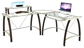 Office Desk With Glass Top Office Depot Glass Desk L Shaped Tag Office Depot Desks Glass